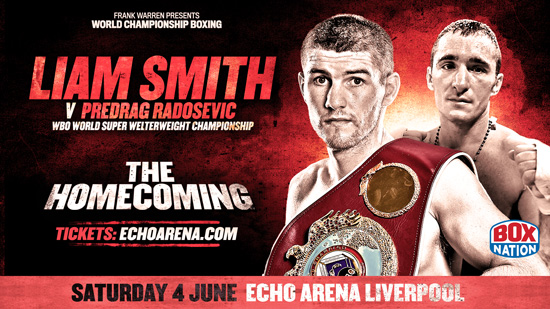 Liam Smith v Predrag Radosevic