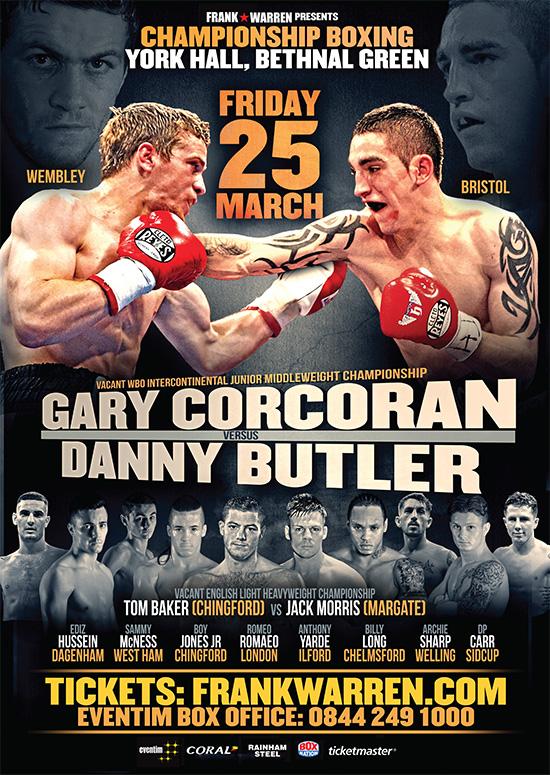 Gary Corcoran vs Danny Butler
