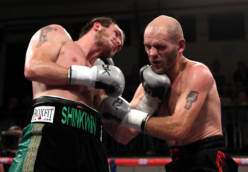 Miles Shinkwin in the ring
