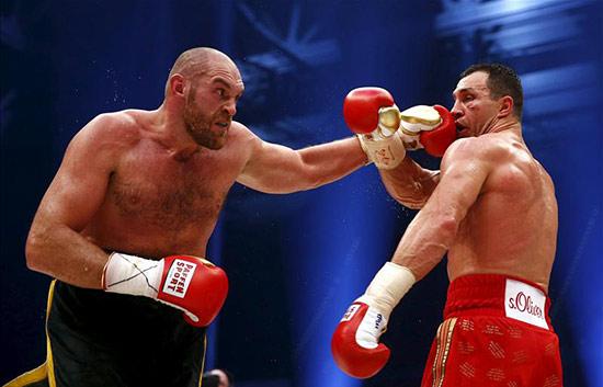 Fury v Klitschko