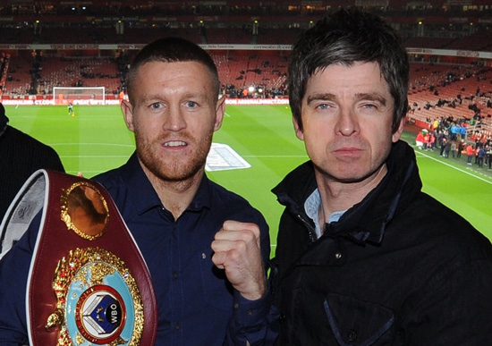 Terry Flanagan and Noel Gallagher