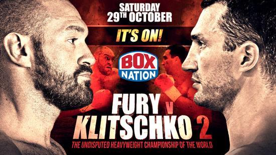 Fury v Klitschko II Its On
