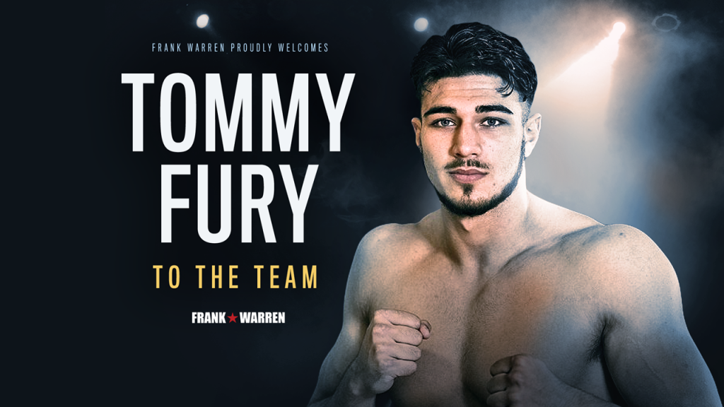 tommy fury welcome
