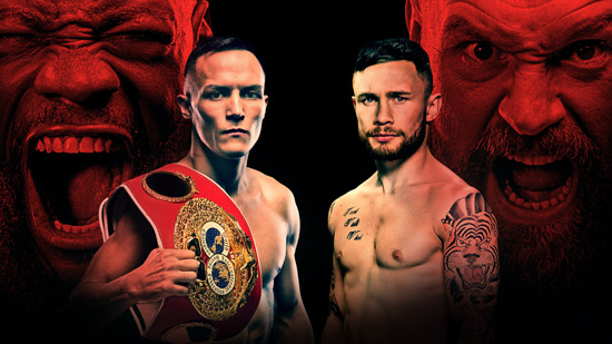 Warrington and Frampton predict Wilder v Fury