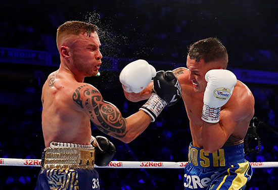 Warrington v Frampton