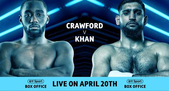 Crawford v Khan BT Sport Box Office