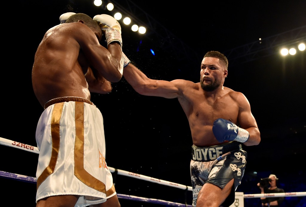 Joe Joyce v Bryant Jennings - WBA Gold Heavyweight Title