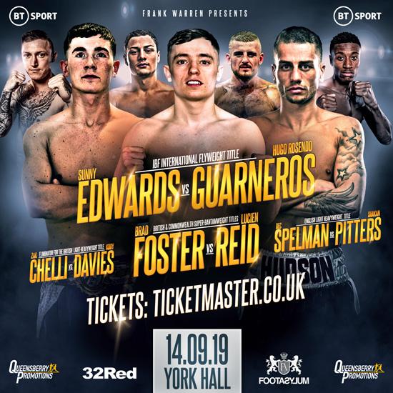 Edwards vs Guarneros, Foster vs Reid
